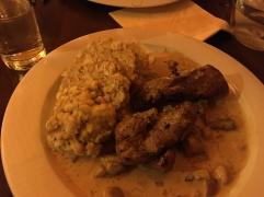 Pork at Restaurant Terasa