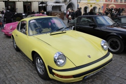 Porsche display at náměstí Svornosti