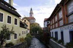canal in Český Krumlov