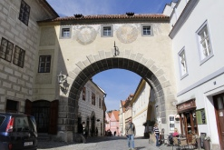 a gate to town