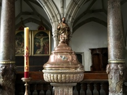 interior of St. Vitus Church