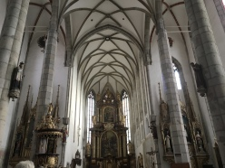 interior of St. Vitus Church