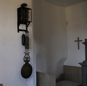 Inside the bell tower