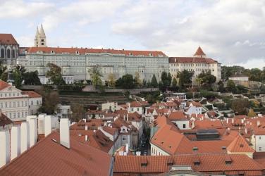 view from St. Nicholas Church