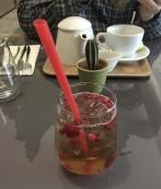 drink at Etnosvet Vegetarian Restaurant
