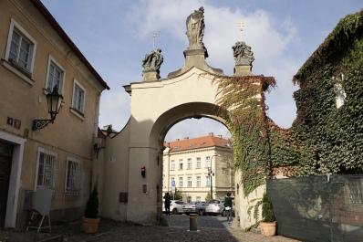 Strahov Monastery gate