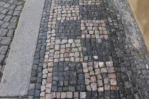 walkway on the way to the Loreta