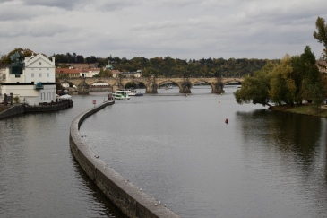 Vltava River from the Legion Bridge