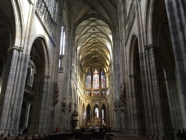 St. Vitus Cathedral interior