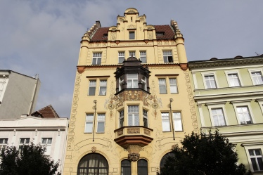 Building in Prague