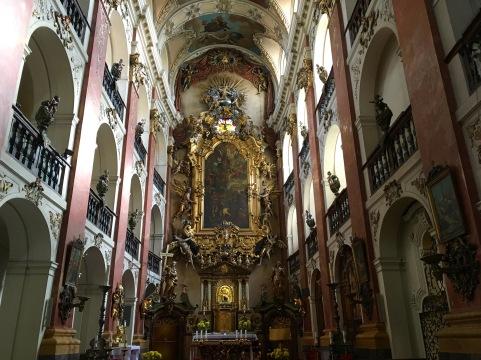 inside Church of St. James