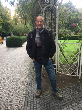 Mike in the Franciscan Garden